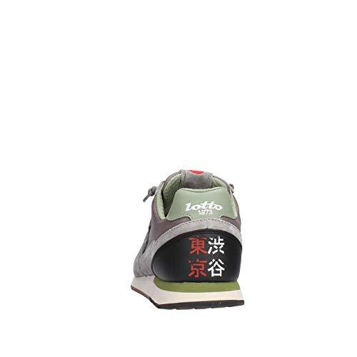Uomo Leggenda Lotto Sneakers Tokyo Mesh Suede Shibuya EU Grigio 44 wS5ATH5qv