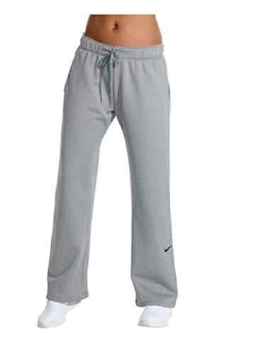 Nike Womens Therma Fleece Training Pants Cool Grey -065 Large