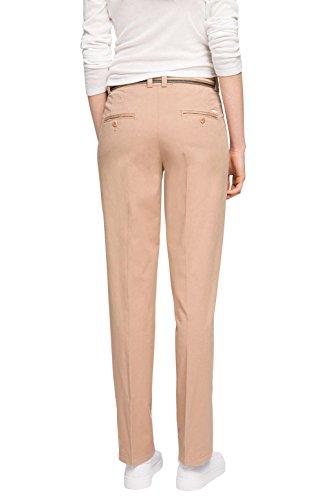 ESPRIT mit Gürtel - Pantalones para mujer Rosa (NUDE 685)