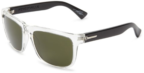 (Electric Visual Knoxville Black Crystal/Grey Sunglasses)