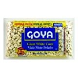 Goya Dry Giant White Corn, 3 lb. bag, 6 bags per case