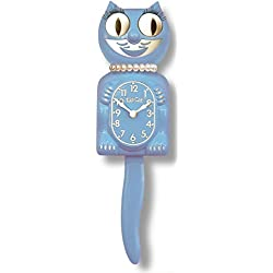 Limited Edition Serenity Blue Lady Kit-Cat Clock