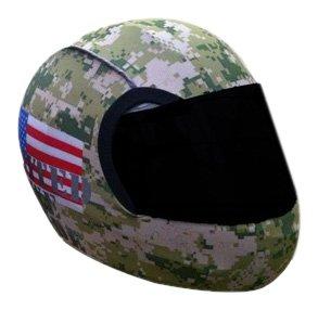 Camouflage Motorcycle Helmet - 7