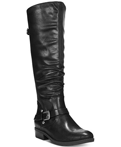 Price comparison product image BareTraps Womens Yanessa Closed Toe Knee High Fashion Boots,  Black,  Size 6.5