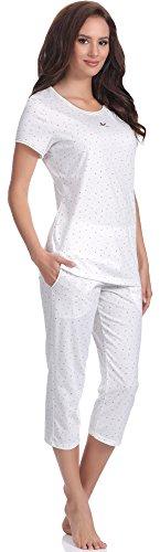 Italian Fashion IF Pijamas para mujer Tasza 0225 Ecru
