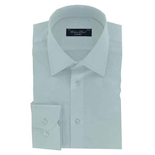 Cotton Park - Chemise 'Pino' satin blanc - Homme
