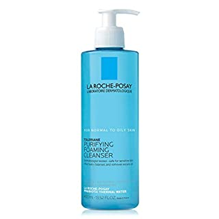 La Roche-Posay Toleriane Face Wash Cleanser, Purifying Foaming Cleanser for Normal Oily & Sensitive Skin