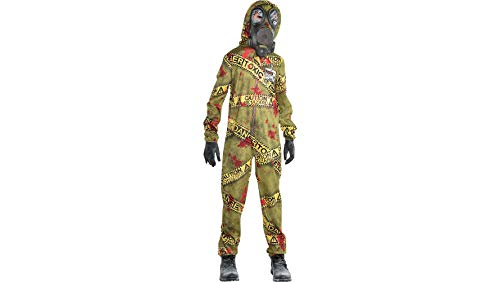 Quarantine Zombie Halloween Costume for Boys, Large, with Included Accessories, by -