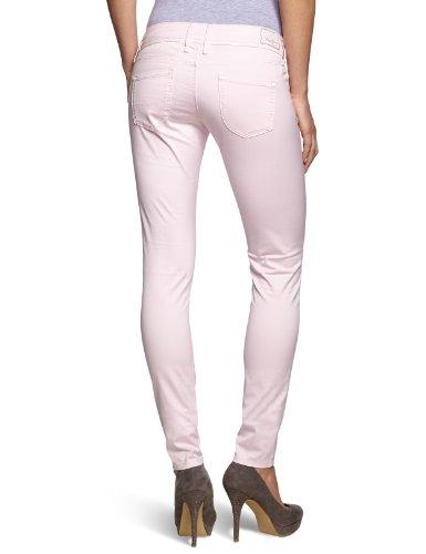 Skinny Skittle tubo Pepe Chiaro Da Fit Rosa Jeans Donna slim qvWpa