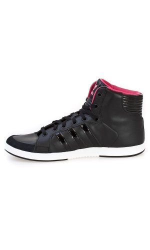 Court Noir Hi Scarpe Side noir Adidas W Odw7TRq