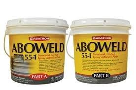 [해외]Aboweld 55-1 구조용 접착제 페이스트 2 갤런 키트/Aboweld 55-1 Structural Adhesive Paste 2 Gallon Kit