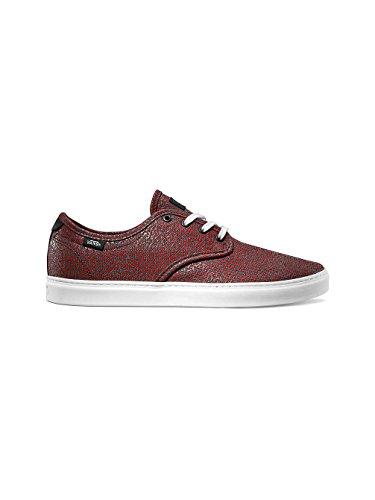 Vans LUDLOW - Zapatillas de skateboarding de tela para hombre Rojo disruptive red white Rojo - disruptive red white