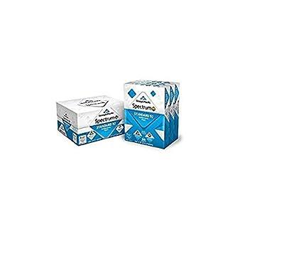 Georgia-Pacific Spectrum Standard 92 Multipurpose Paper WZQ38J, 8.5 x 11 Inches, 1 box of 9 packs (4500 Sheets) (998606)