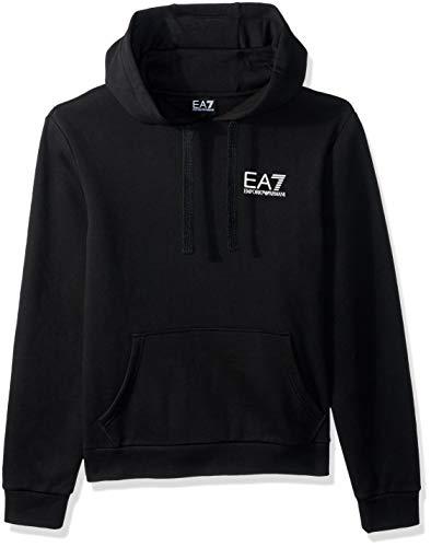 Emporio Armani EA7 Men's Train Core ID Fleece Hoodie, Black, -
