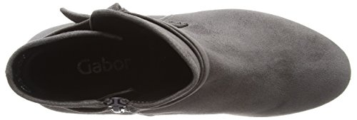 grey Basic Shoes Gabor Gris Mujer Dark 19 para Botas Gabor zqUwEWdwR