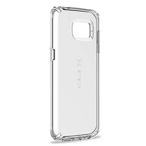Speck Products Samsung Galaxy S7 Edge Case, CandyShell Clear Case, Military-Grade Protective Case (Fits Galaxy S7 Edge only) (Speck Candyshell Hard Case)