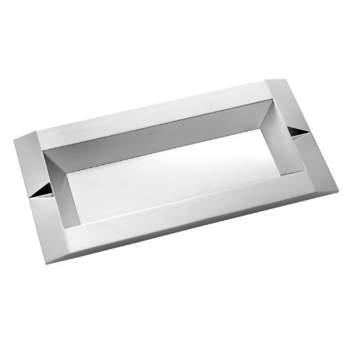 Vera Wang by Wedgwood Peplum Silver Plate Vanity Tray, 6 by 12-Inch