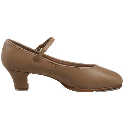 Capezio Frauen Tap Jr. Footlight Tap Schuh Karamell