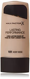 Max Factor Lasting Performance # 040 Light Ivory Foundation, 1.10 Ounce