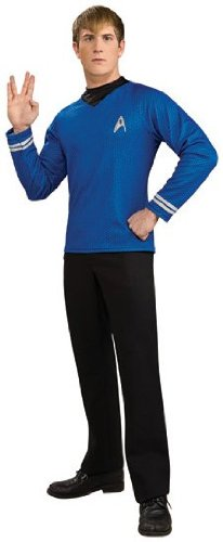 Star Trek Mens Deluxe Spock Costume -
