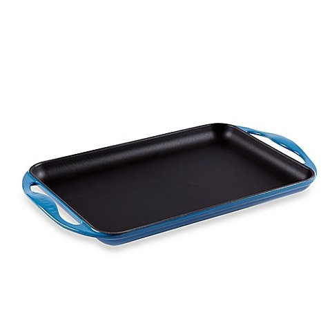 Le Creuset® Rectangular Skinny Griddle in Marseille by Le Creuset