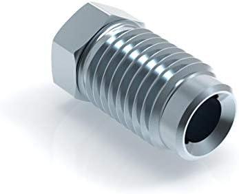 Rosca tipo A cordeles F M10 x 1 para cable de freno 4,75 mm.
