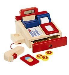 Realistic Wooden Register Movable Accessories product image