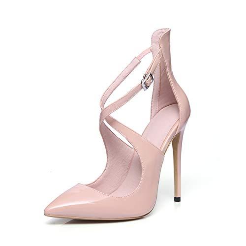 HOESCZS 2018 Große Größe 33-43 Marke Design Design Design Anpassen Dünne Absatzsandelholze Sommer Schuhe Frau Party Frauen Schuhe c6bec9