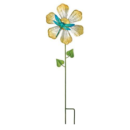 Regal Art & Gift 5480 Dragonfly Flower Spinner