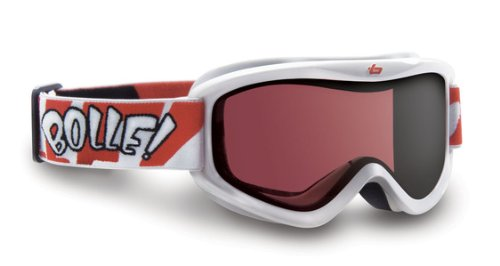 Bolle Volt Snow Goggles (Vermillon Lens/White Frame), Outdoor Stuffs