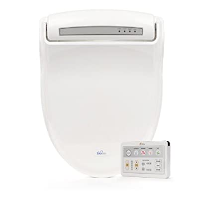 Image of BioBidet Supreme BB-1000 Elongated White Bidet Toilet Seat Adjustable Warm Water, Self Cleaning, Wireless Remote Control, Posterior and Feminine Wash, Electric Bidet, Easy DIY Installation 3 in 1 Nozzle, Power Save Mode is Eco Friendly Home Improvements