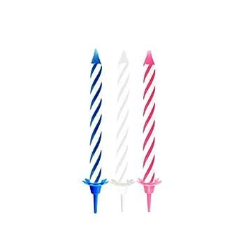 Partygram - 18 Velas de Cumpleaños, Líneas en Espiral, con ...