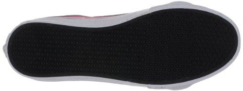 Vans U SK8-HI SLIM (NEON LEATHER) - Zapatilla alta de cuero unisex rosa - Pink ((Neon Leather))
