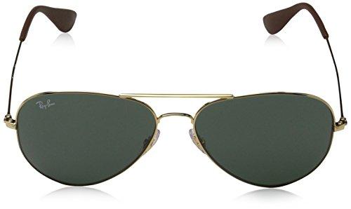 Gold Adulto 0Rb3558 Ray Unisex Gafas Ban 71 Sol 58 001 de 448zpAqW
