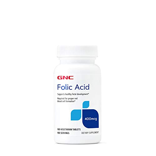 GNC Folic Acid 400 mcg
