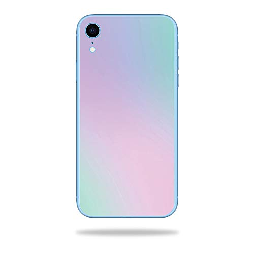 MightySkins Skin Compatible with Apple iPhone XR - Cotton Candy | Protective, Durable, and Unique Vinyl Decal wrap Cover | Easy to Apply, Remove, and Change Styles | Made in The USA