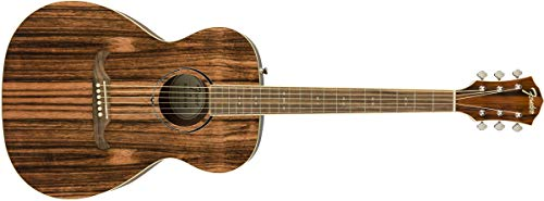 Fender FA-235E Striped Ebony Acoustic Guitar – Limited Edition