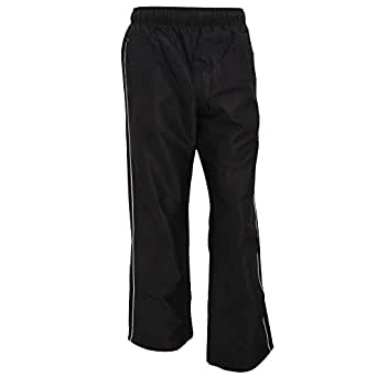Finden & Hales Mens Piped Showerproof Sports Track Pants/Tracksuit Bottoms
