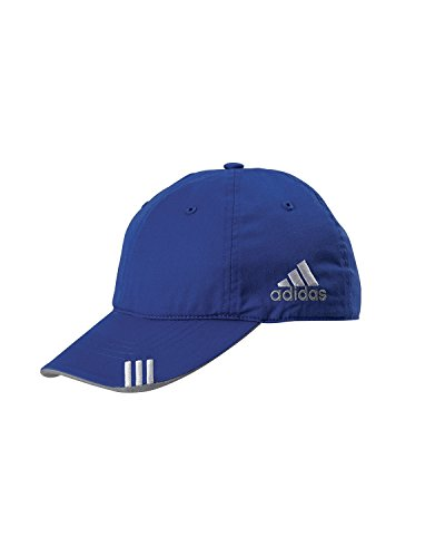 adidas Golf Lightweight Cotton Front Hit Cap, Blueberry/Mid (Blueberry Outfit)