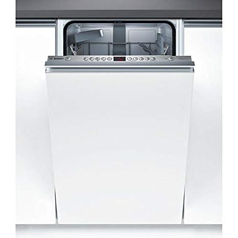 Bosch Serie 4 SPV45CX01E lavavajilla Totalmente integrado 9 cubiertos A+ - Lavavajillas (Totalmente integrado, Estrecho (45 cm), Blanco, Botones, LED, ...