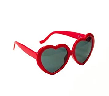 COOLMP Gafas corazón Rojo - Juegos, Juguete, Disfraz y ...