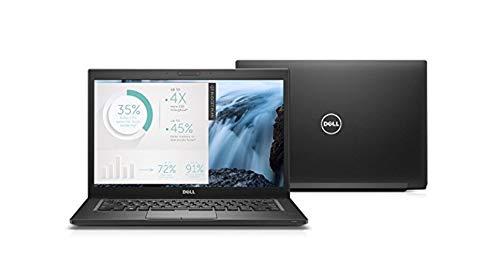"Dell Latitude 14 7000 7480 Business UltraBook - 14"" Liquid Crystal (1366x768) Display, Intel Core i5-6300U 2.4 GHz 256GB SSD, 8GB DDR4, Webcam, Bluetooth, Windows 10 Professional (Renewed)"