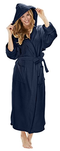 Turkish Robes Terrycloth Hooded Robe - Robe Waffle Pique