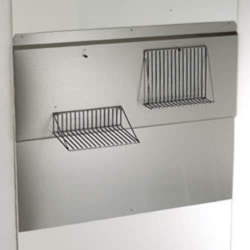 Broan RMP6004 Backsplash, 60-Inch, Stainless - Shelves Backsplash Warming