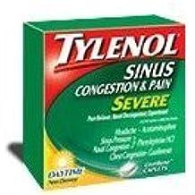 TYLENOL SINUS CONG/PAIN CAPS 24