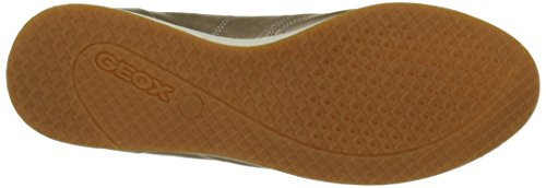 Geox D52H5A00085, Zapatillas Mujer Dorado (Champagnecb500)