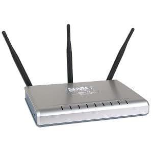 SMC SMCWBR14-N2 Barricade™ N Pro Wireless Broadband - Router (ADSL, 4 dBi, NAT+SPI, DSP, IDS, AccC, DMZ Host, IPSec, PPTP & L2TP VPN, SSID, WEB, 320g, Internet Explorer 5.5 Netscape 4.7 Mozilla Firefox 1.0)
