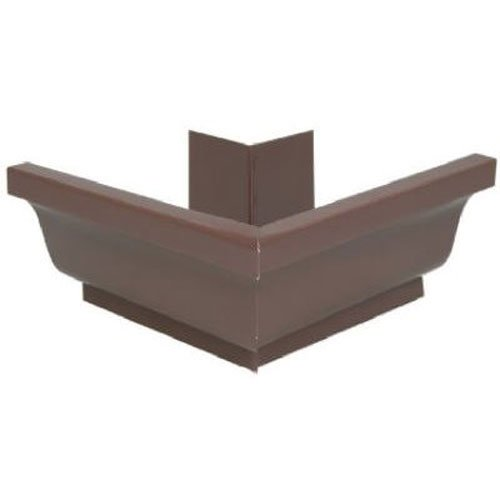 Brown AMERIMAX HOME PRODUCTS 1920219 4-Inch Galvanized Outside Mitre