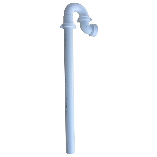 LASCO 03-4337 Plastic Tubular Washing Machine Trap with Stand Pipe and Elbow for DWV Pipe Connection, 1 1/2-Inch, White by LASCO