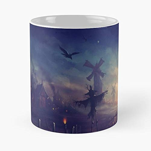 5 Centimeters Per Second Ending Trailer Anime - 11 Oz Coffee Mugs Unique Ceramic Novelty Cup, The Best Gift For Halloween.]()